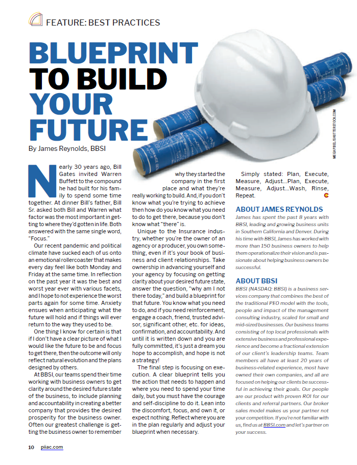 blueprint to build future article